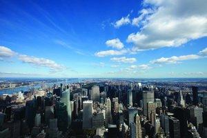 Nördlicher Blick auf New York