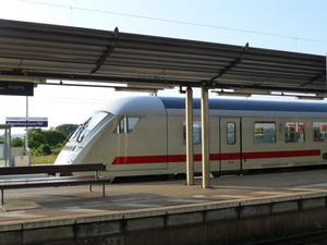 Bahnhof Naumburg, Foto Gabriele Wilms