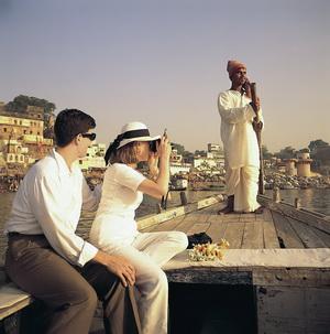 Bootsfahrt auf dem Ganges in Varanasi, Foto Lotus Travel Service