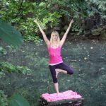 Yoga-Lehrerin Verena