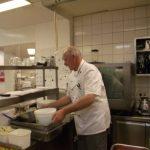 Küchenchef Walter Schmitz