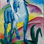 Marc Blaues Pferd 1911