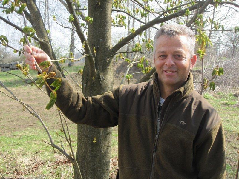 Waldexperte Bernd Schneider