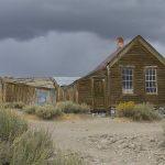 Verfallenes Wohnhaus in Bodie, Kalifornieren